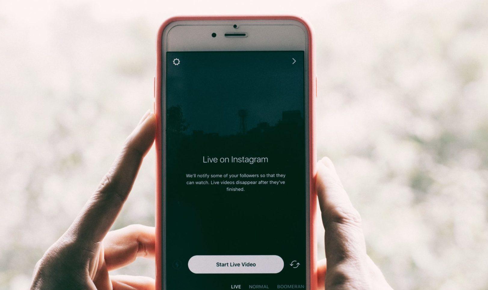 Live on Instagram - Hans & Vivek