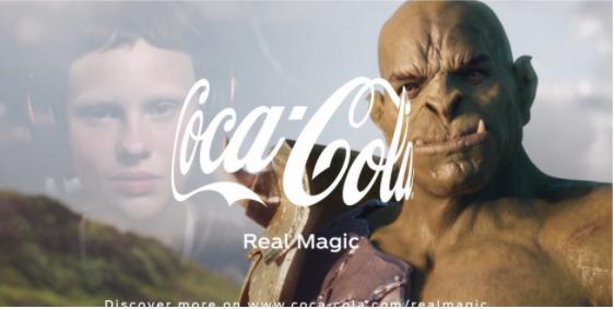 Coke's Real Magic ad