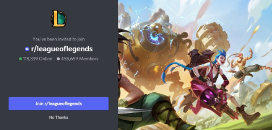 r/leagueoflegends - gaming discord servers